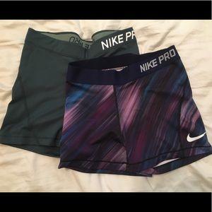 "Nike Dri Fit 3"" medium shorts"